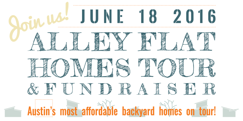 Alley Flat Tour save the date